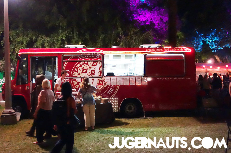 Agape FoodTruck | Night Noodle markets