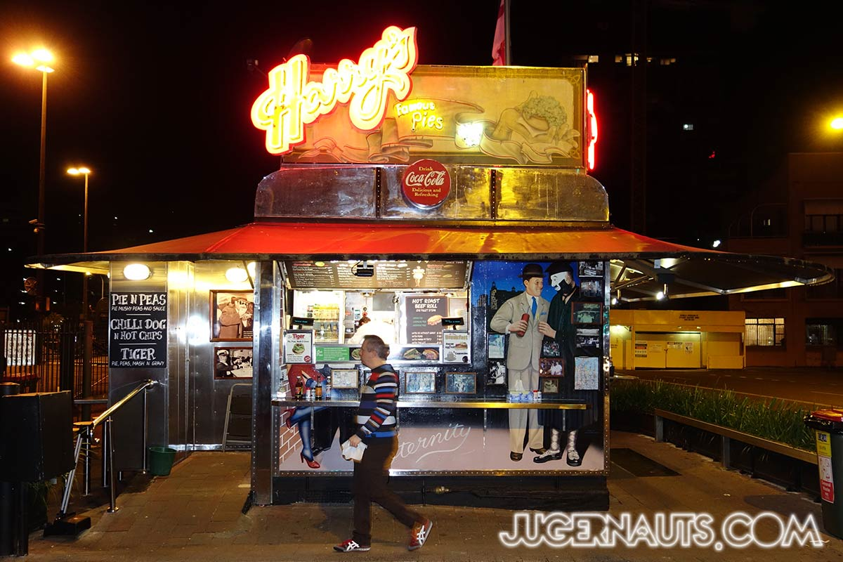 Harry's Cafe de Wheels | Woolloomooloo - Jugernauts Sydney ...
